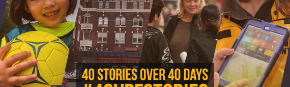 40 Years of Building Safer Communities