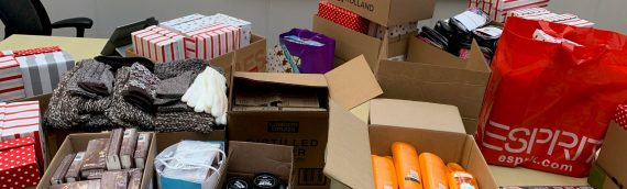 Reducing Feelings of Isolation: VPD Supports The Shoebox Project for Shelters