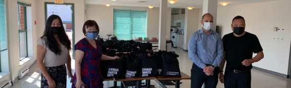Seniors Food Hampers: VPD Finance Department Supports Vancouver's Elderly